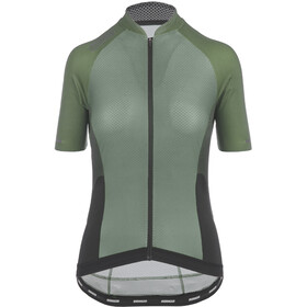Bioracer Sprinter Kurzarm Trikot Cold Black Light Damen olive